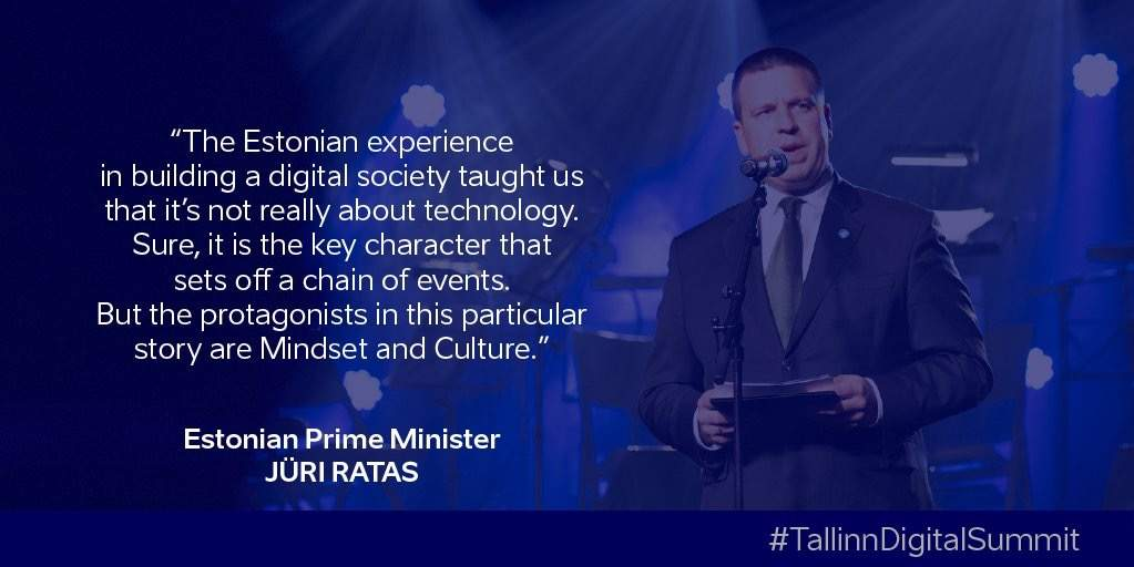 Tallinn Digital Summit in Estonia