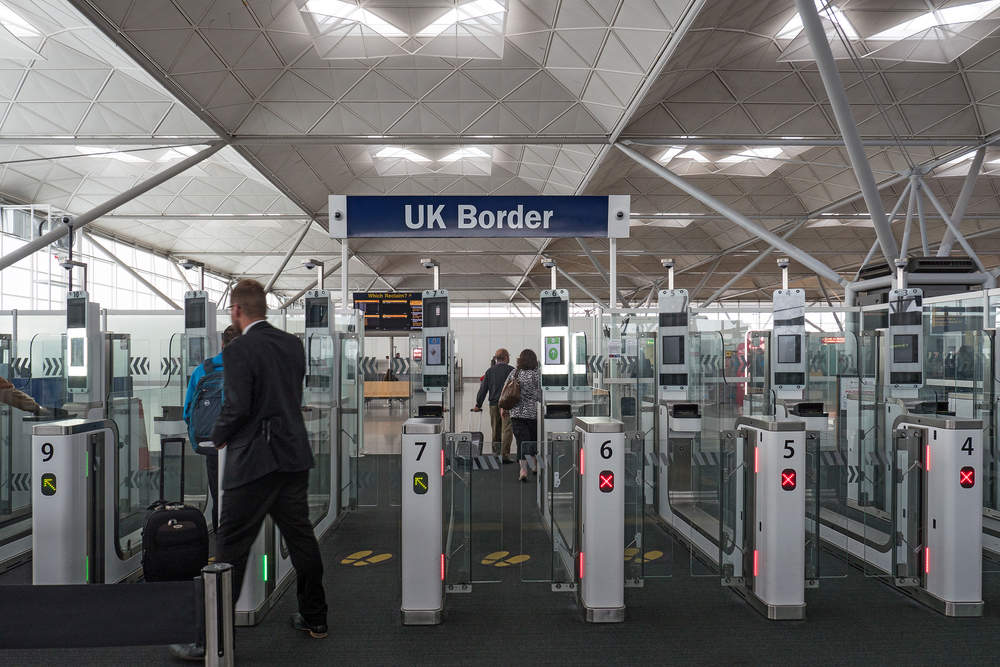 UK Biometrics Border