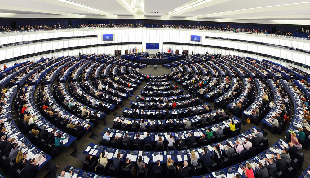 European Parliament plenary