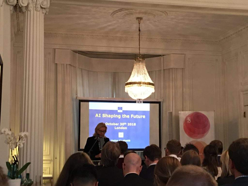 Finnish embassy London AI conference