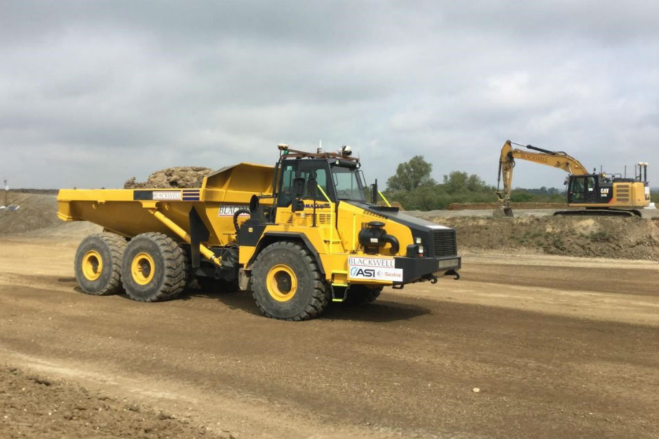Highways England launches A14 dump truck trial