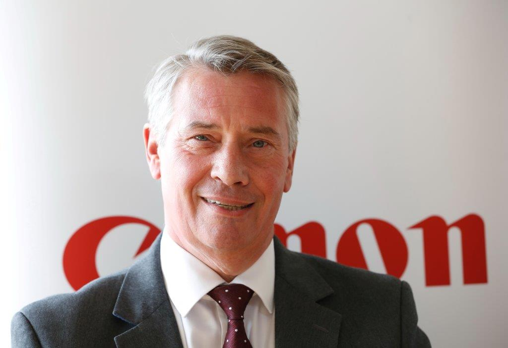 Robert Pickles, Head of Corporate & Government Affairs for Canon UK & Ireland