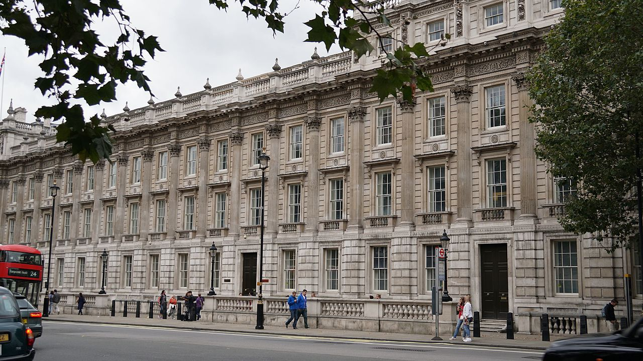 The Cabinet Office in Whitehall, London