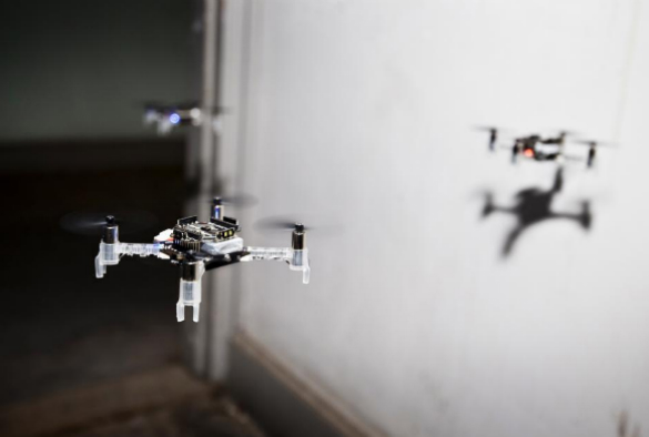 tiny insect-inspired drones