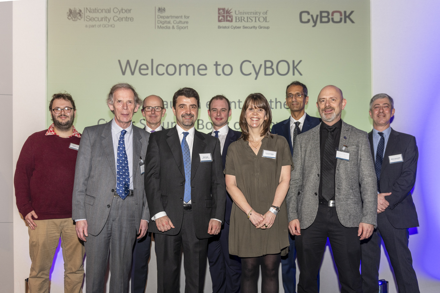 Launch of the CyBOK cyber security guide at London's Science Museum
