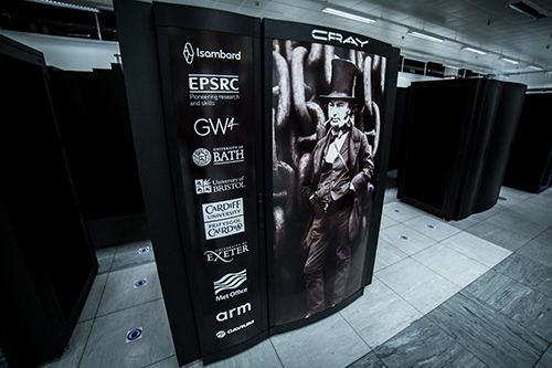 The Isambard 2 supercomputer will be hosted at the Met Office in Exeter