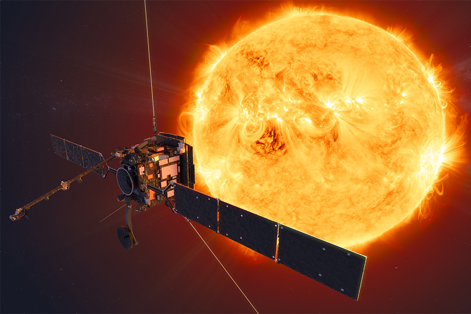 The UK Space Agency has invested in the Solar Orbiter and other ESA projects.