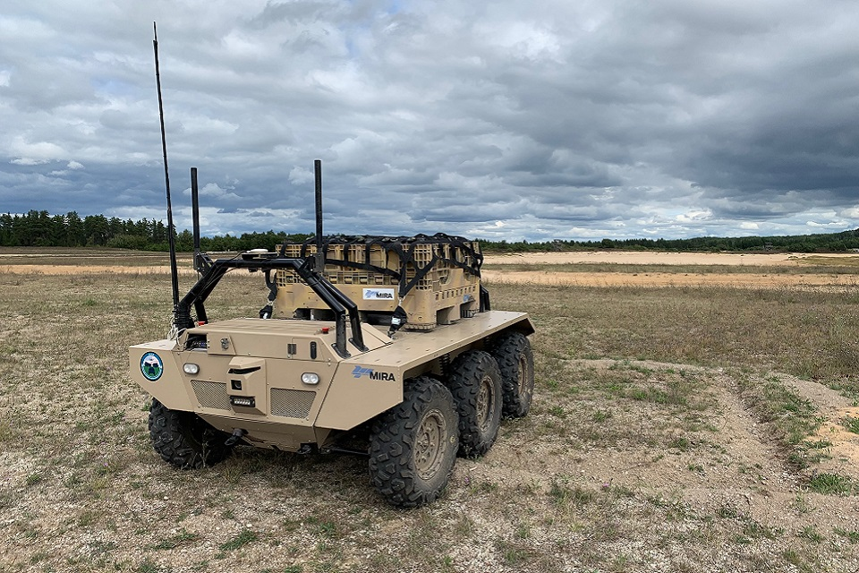 Dstl signs contracts for supply of autonomous ground vehicle systems
