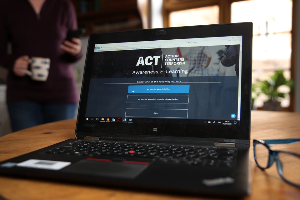 NaCTSO launches updated version of ACT Awareness e-Learning course