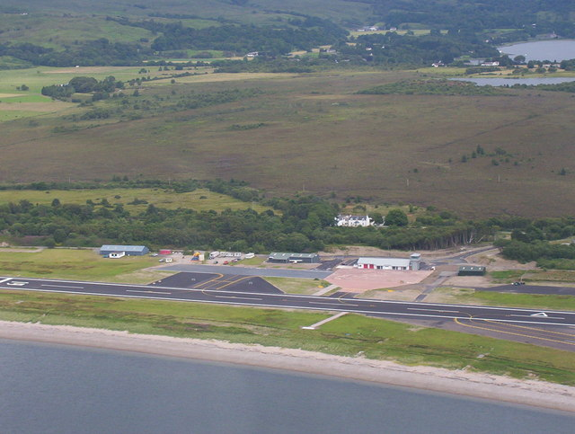 Oban Airport to enable drone trials for medical supplies between Oban and the Isle of Mull.