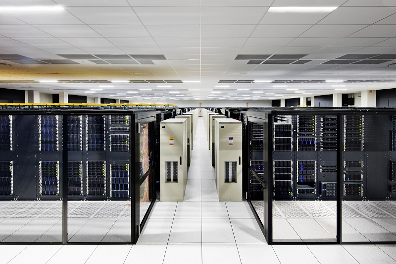 Inside the IBM Cloud in Dallas, Texas