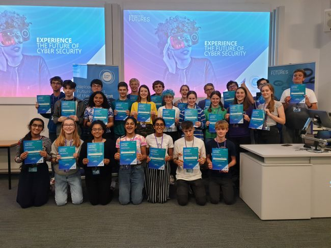 More than 1,700 UK pupils have been accepted into the CyberFirst summer courses this year.