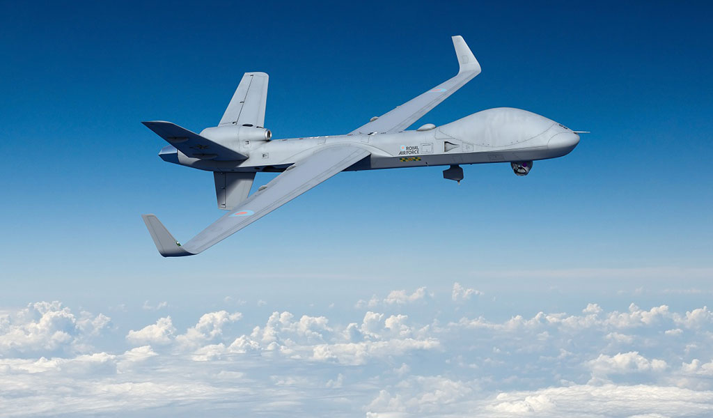 GA-ASI to deliver Protector remotely piloted aircraft to the UK.
