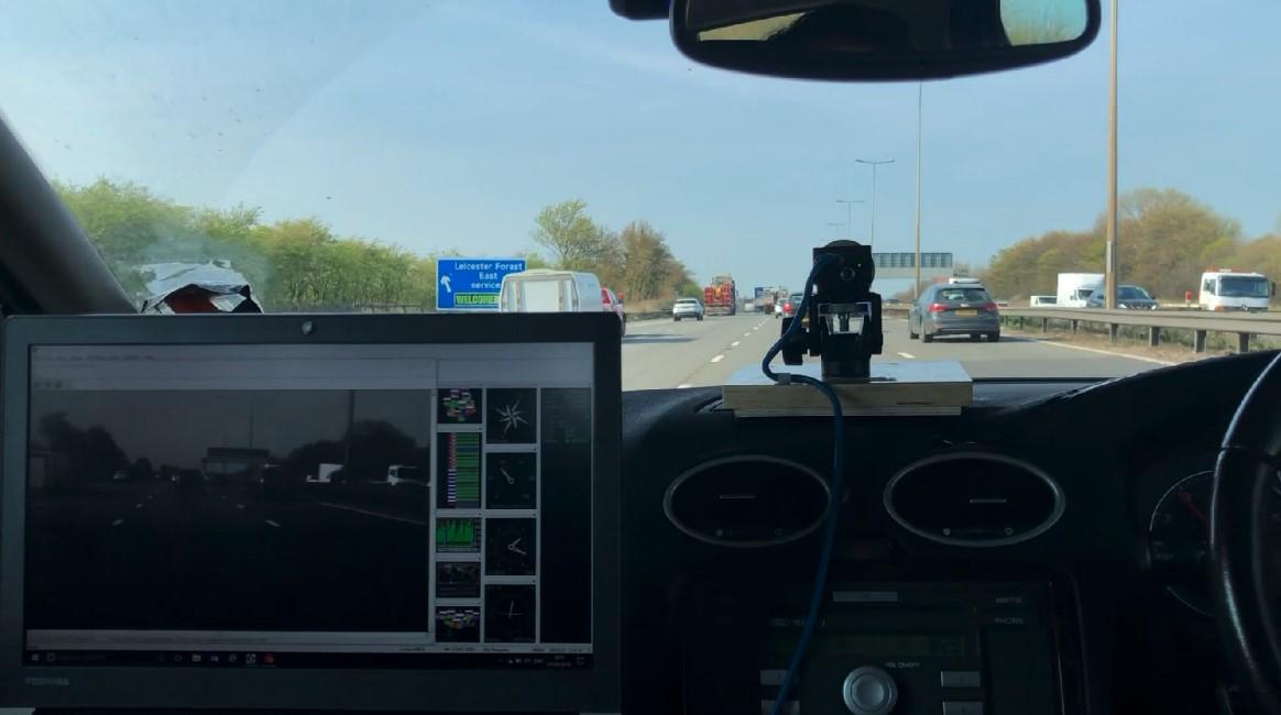 Highways England, Loughborough University partner on CAVIAR project.