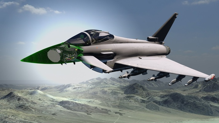 BAE Systems, Leonardo bag contract to equip RAF's Typhoons with next gen radar.