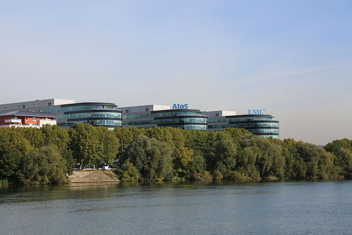 Atos headquarters in Bezons, France.