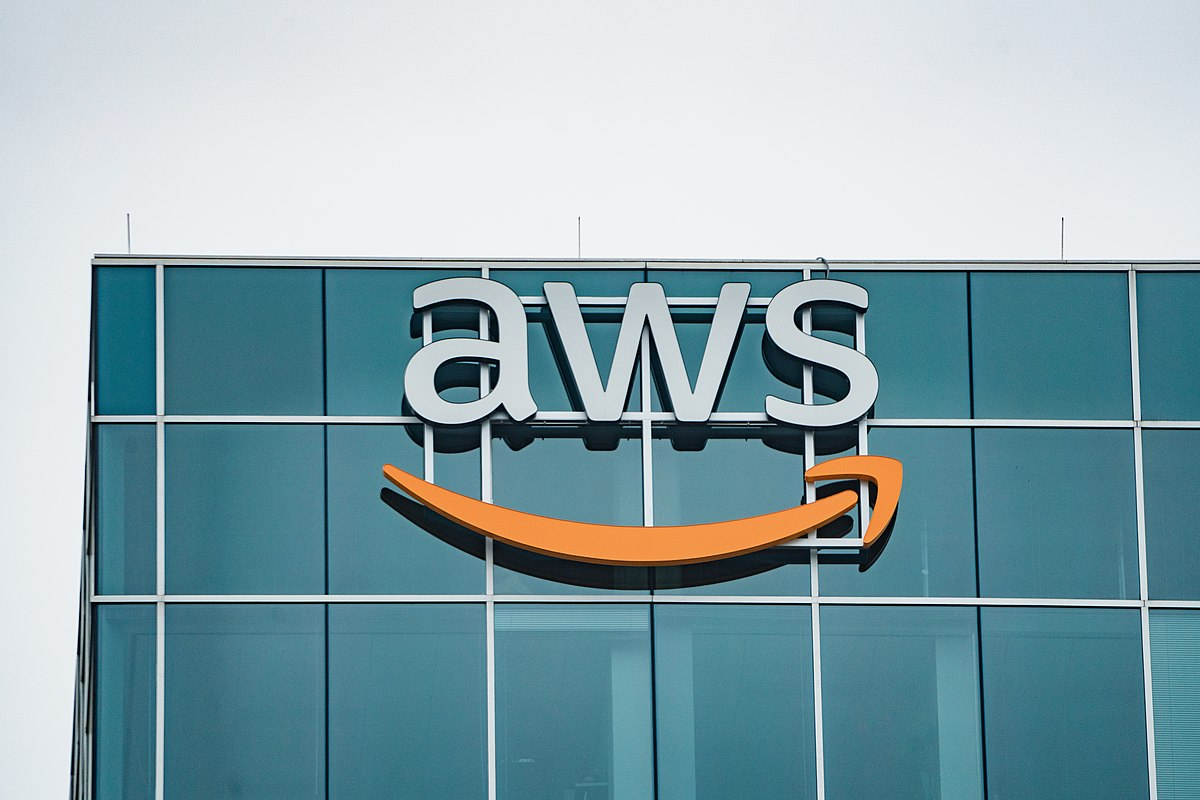 The Amazon Web Services (AWS) office in Houston, Texas, US.