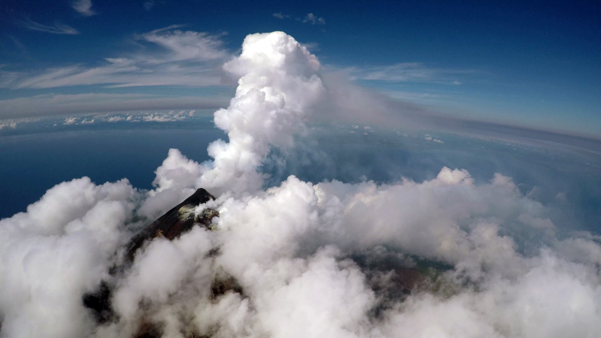 Scientists create new drone technology for better monitoring of volcanoes.