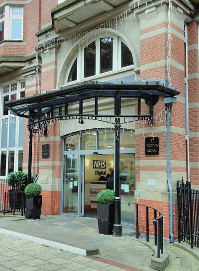 NHS Digital headquarters in Leeds.