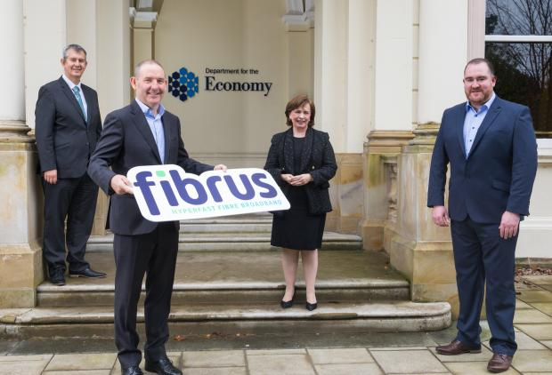 Fibrus wins contract to deliver Project Stratum for Northern Ireland.