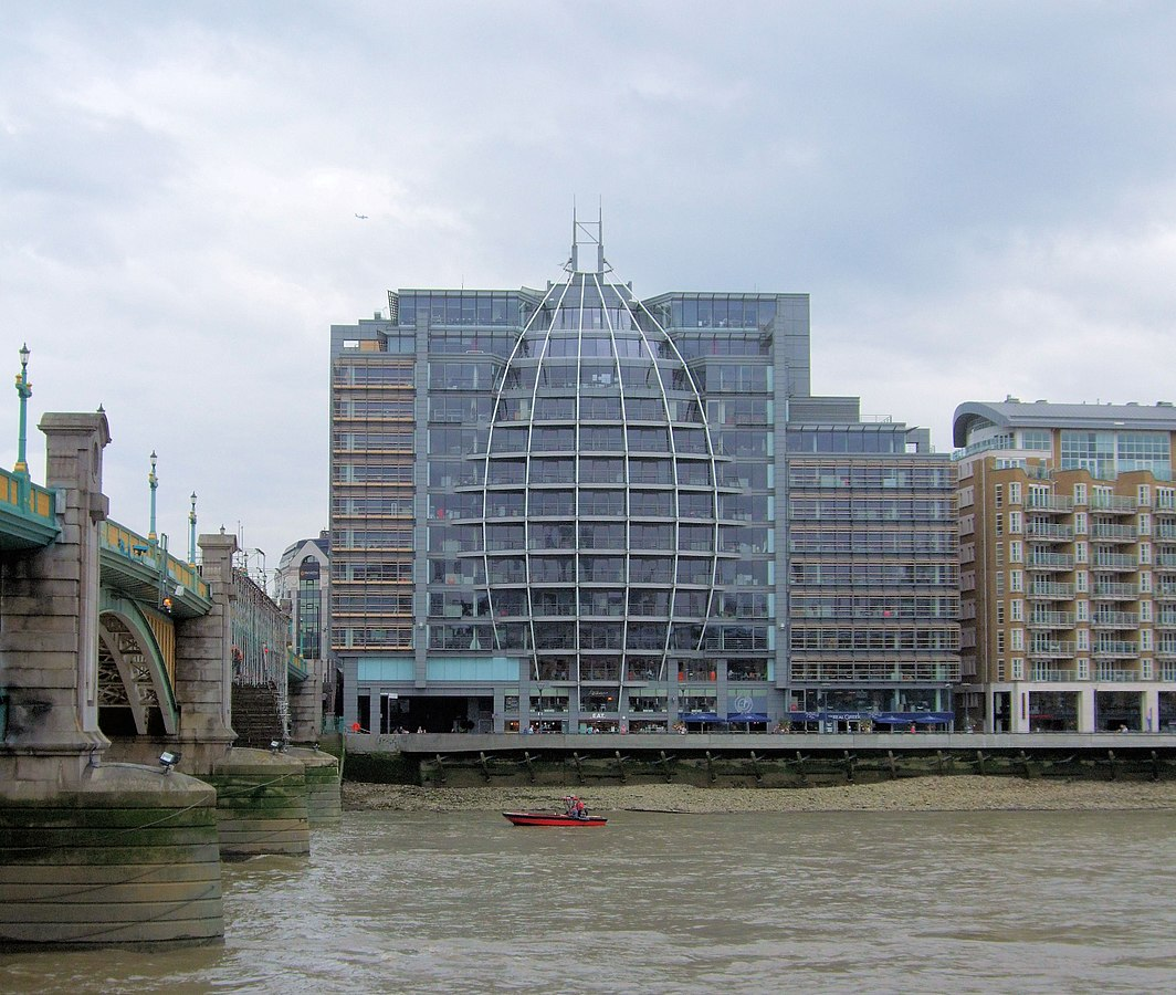 Ofcom offices at Riverside House, Bankside in London