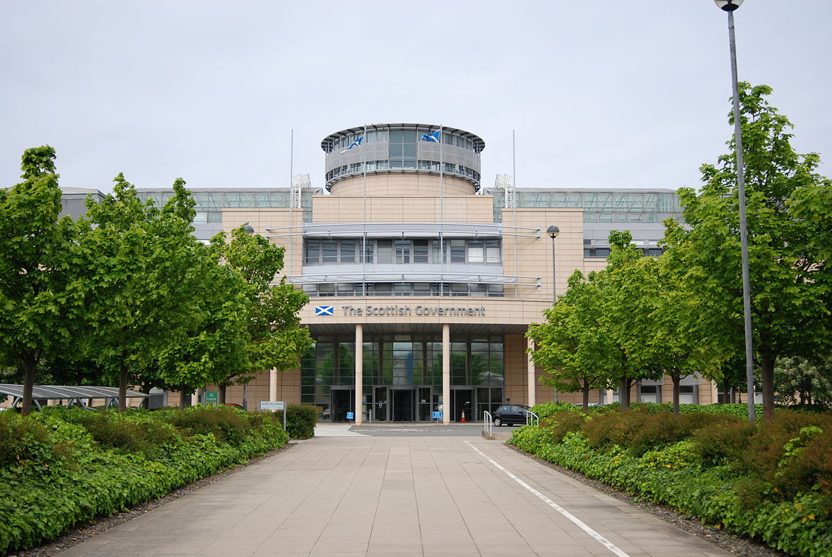 A building of the Scotland government.