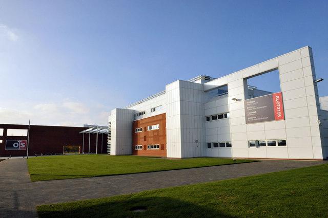 Headquarters of Ordnance Survey in Southampton, England
